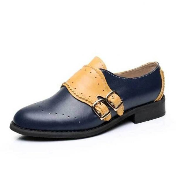 Chaussures Oxford Femme Cuir