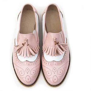Chaussures Vintage Rose