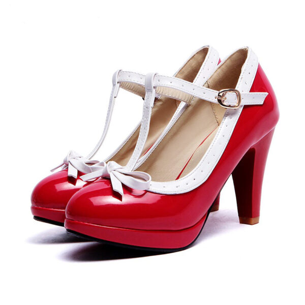 Chaussures Pin Up Rouge