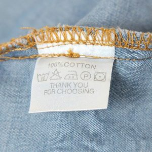 Chemise jean vintage femme coton