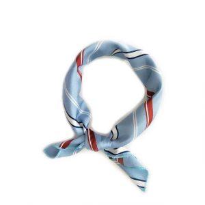 Foulard Cheveux Bleu