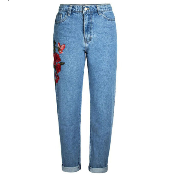 Jean Pin Up Taille Haute
