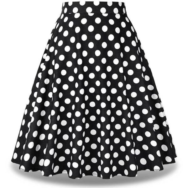Jupe Pin Up A Pois