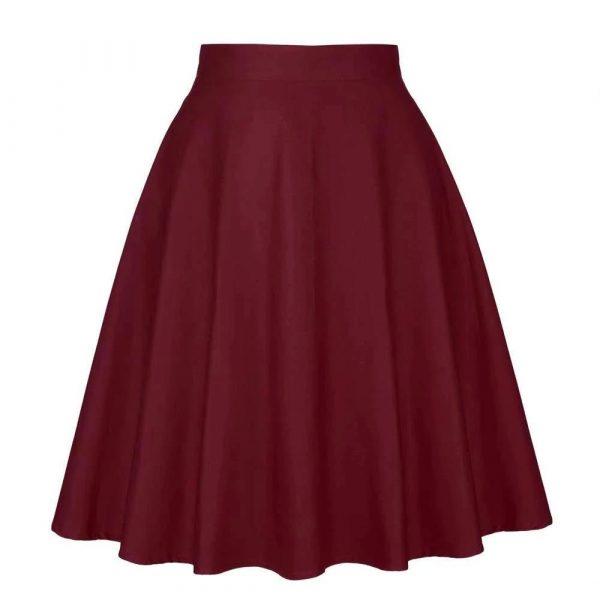 Jupe Vintage Rouge