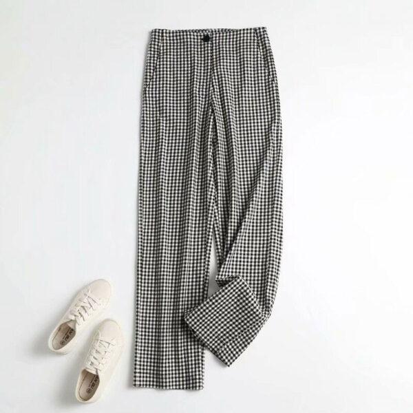 Pantalon Rétro Femme