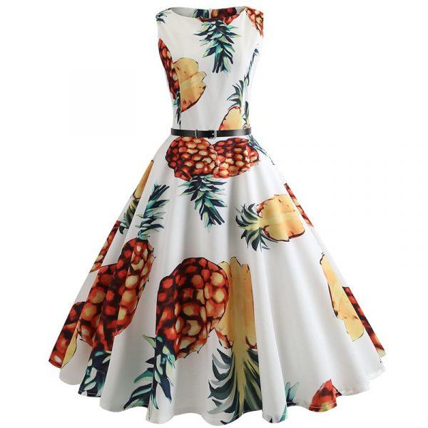 Robe Ananas Femme