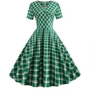 Robe Pin Up Carreaux