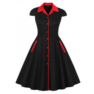 Robe Style Annee 50 Pin Up
