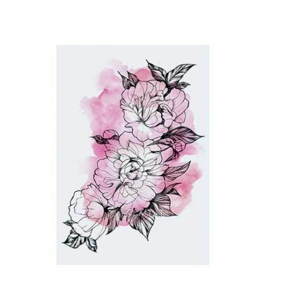 Tatouage Éphémère Fleur
