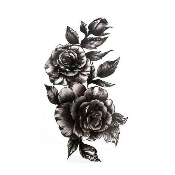 Tatouage Éphémère Noir