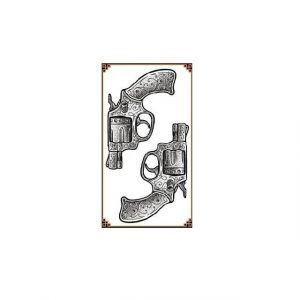 Tatouage Temporaire Pistolet