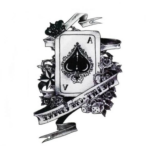 Tatouage Temporaire Poker